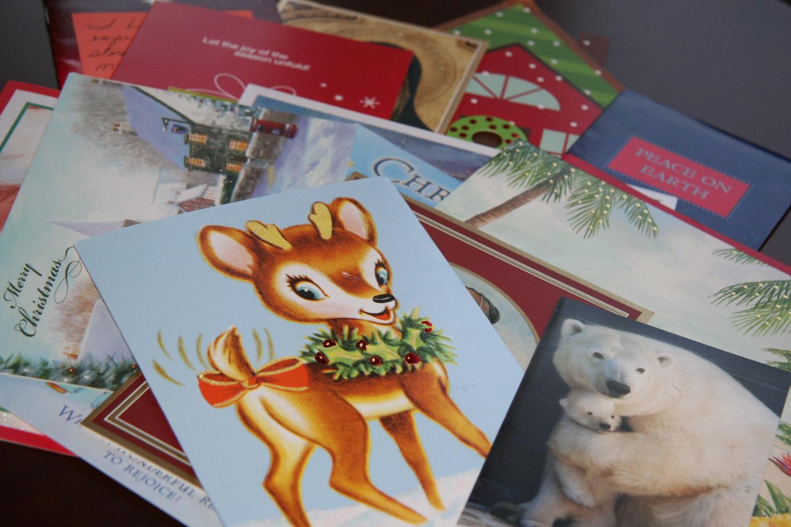 Oh, Christmas Card, Oh, Christmas Card –