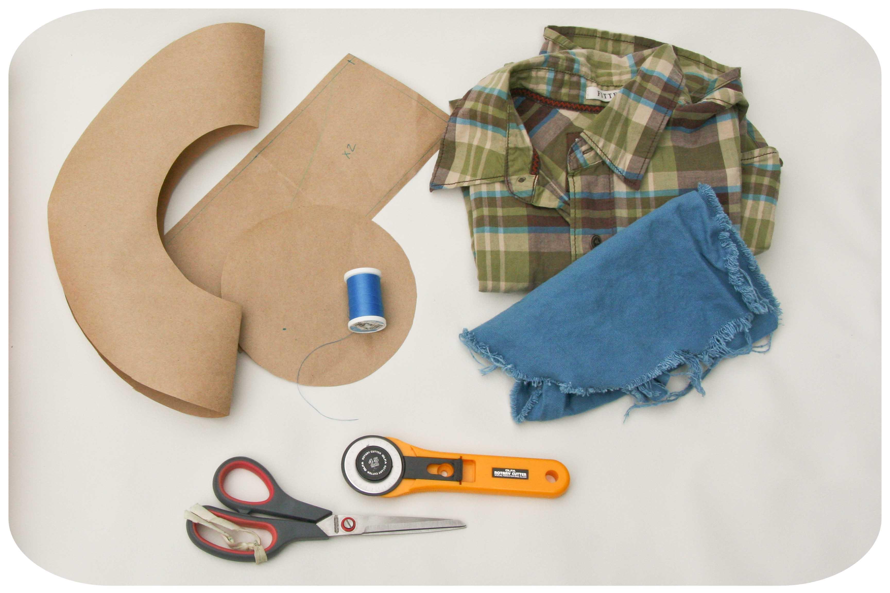76b5b8f5804 Summer Bucket Hat Tutorial. Materials  Pattern. Fabric. Thread