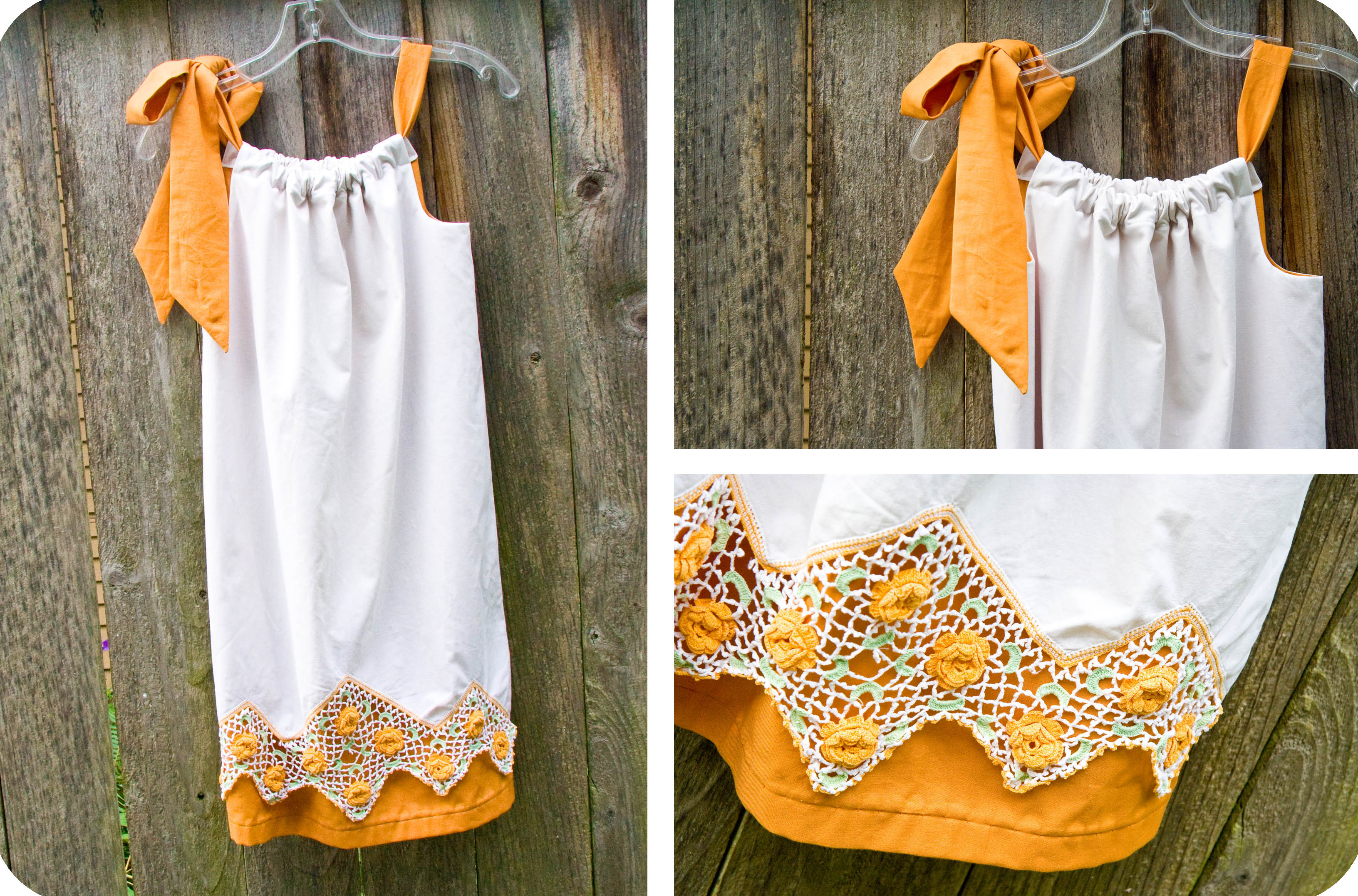 Diy Pillowcase Step By Step: The Pillowcase Dresses are Done! Check! –,