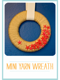 CraftyBlocks-MiniYarnWreath