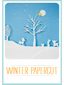 CraftyBlocks-WinterPapercut
