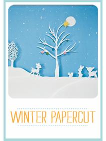 CraftyBlocks-WinterPapercut