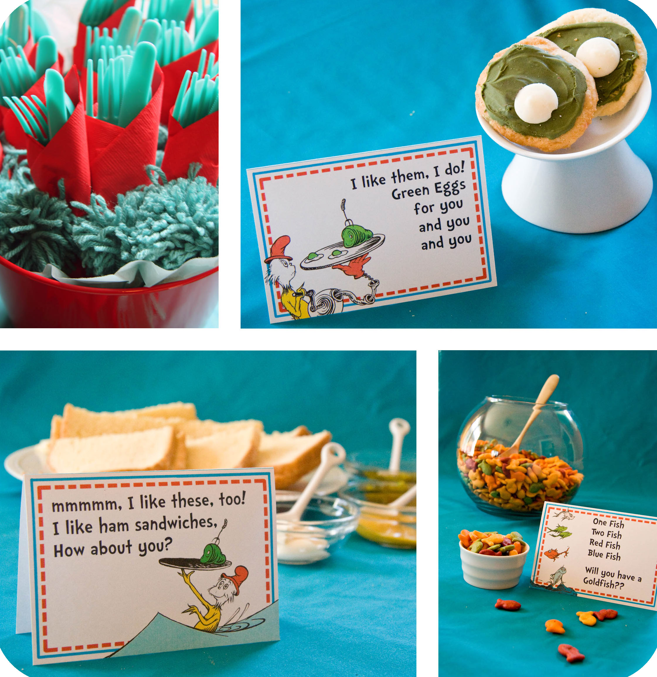 Dr Seuss Party Series- The Food and a Recipe! –
