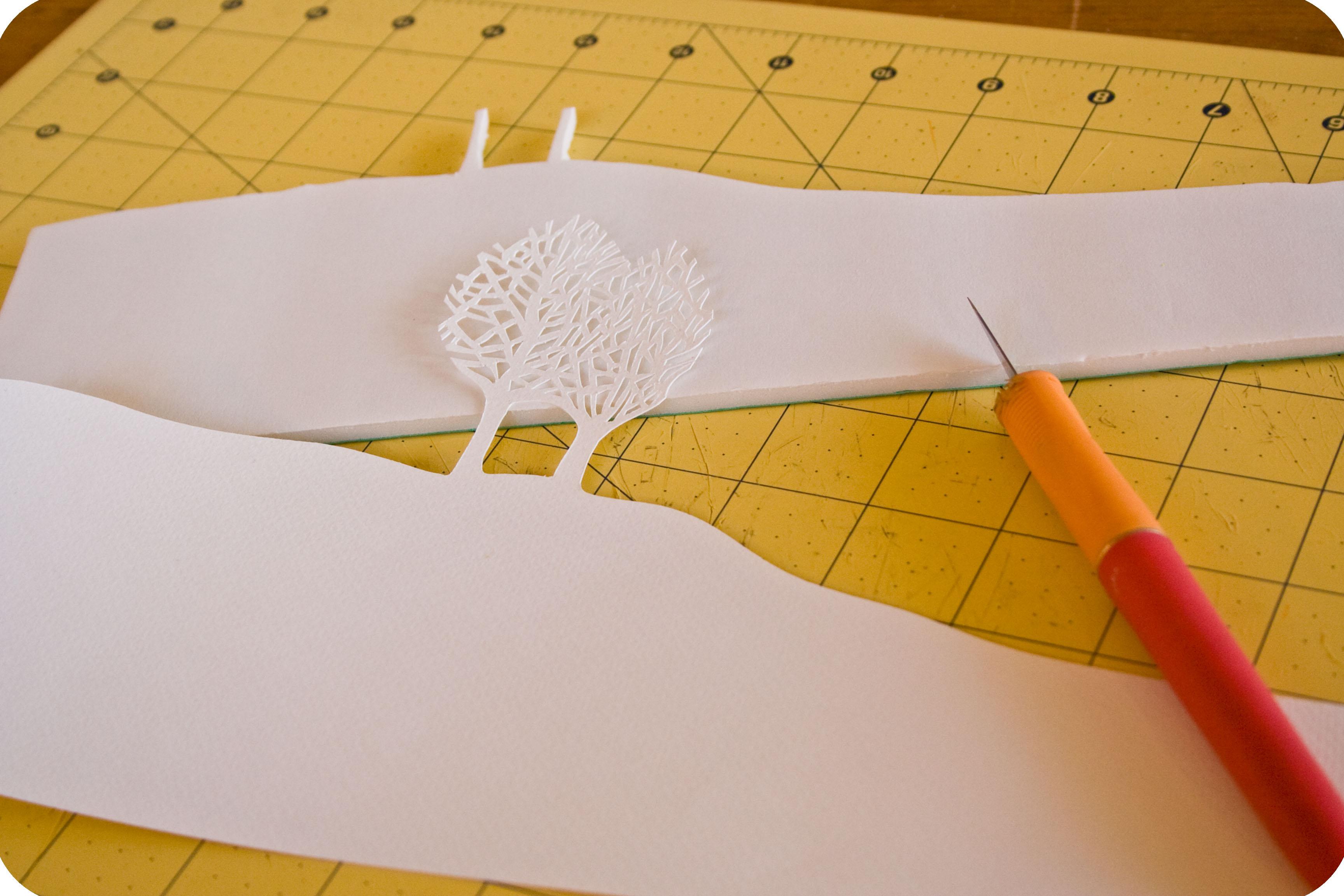 Как сделать объёмные картины из бумаги