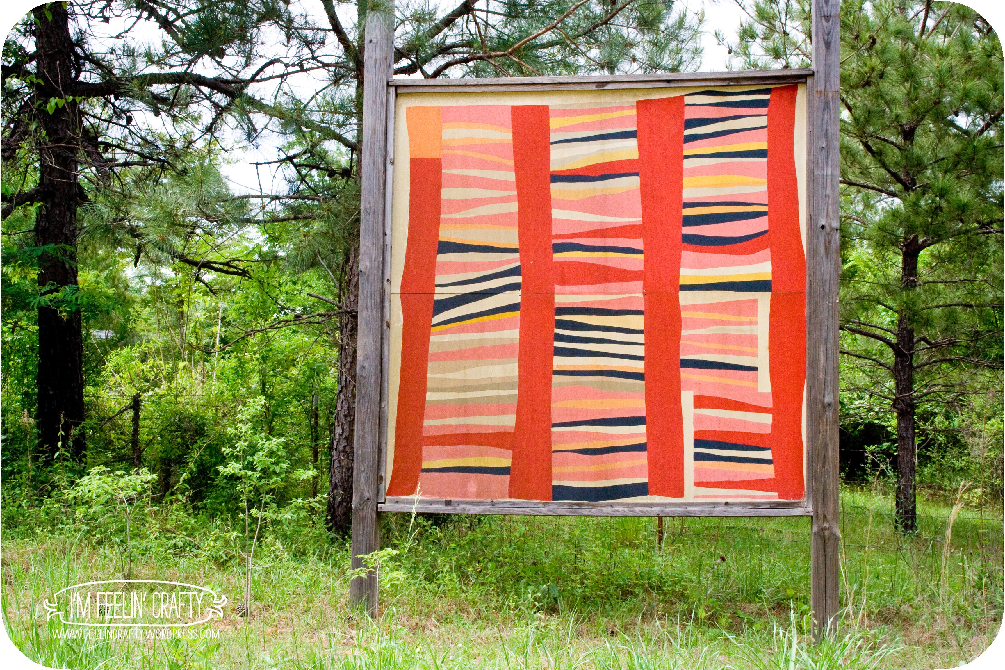 The Gee S Bend Quilt Mural Trail
