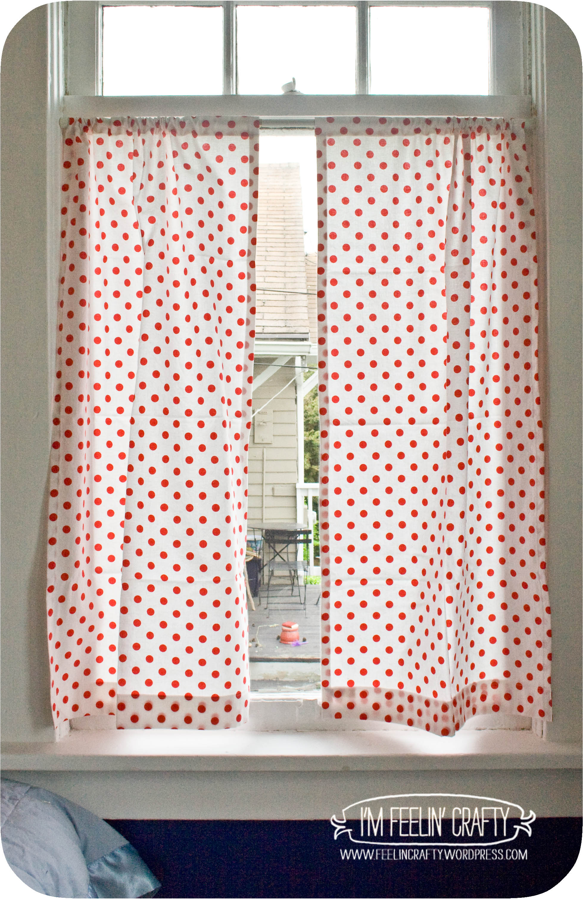 Curtains are so Easy Tutorial