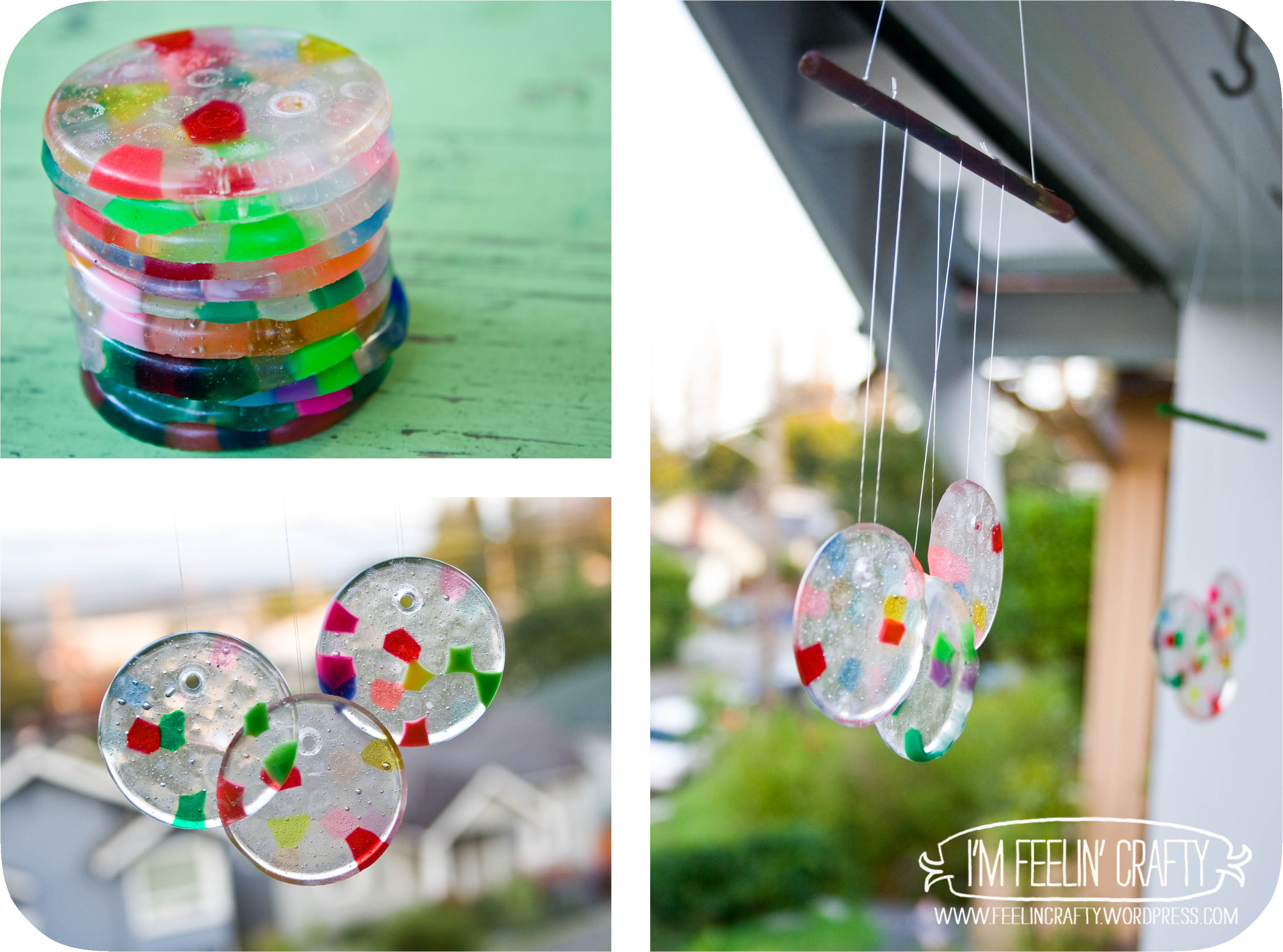 melted bead sun catchers