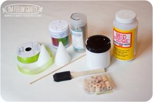 GlitterTree-Materials-I'mFeelin' Crafty