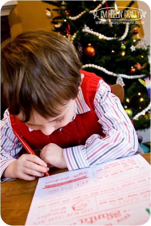 LetterToSanta-Writing-I'mFeelin'Crafty