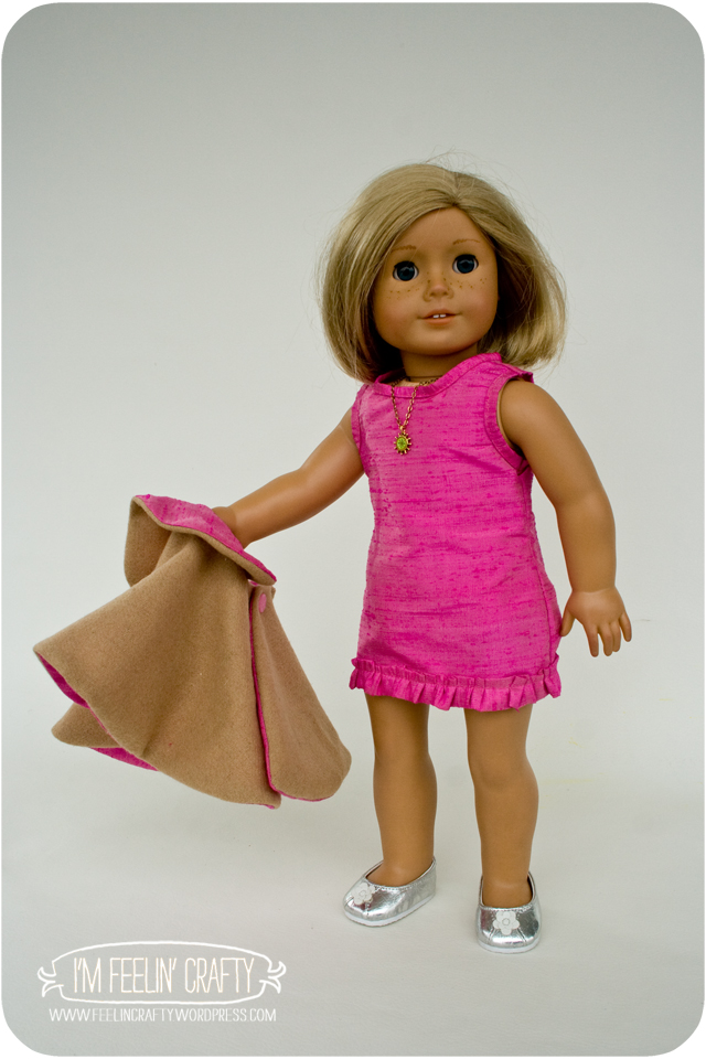 DollClothes-PinkDress-1-I'mFeelin'Crafty