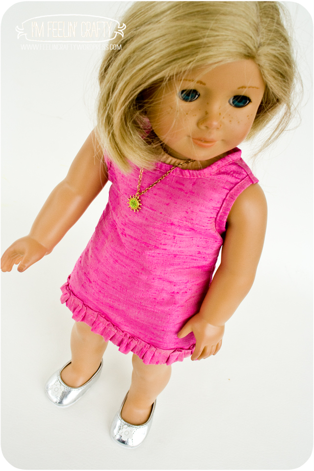 DollClothes-PinkDress-2-I'mFeelin'Crafty