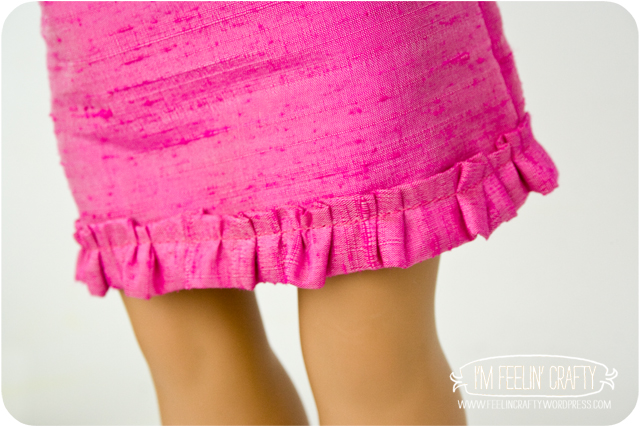DollClothes-PinkSkirt-I'mFeelin'Crafty