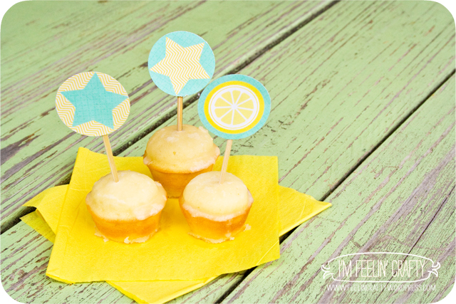 summer thyme-cupcaketoppers-ImFeelinCrafty