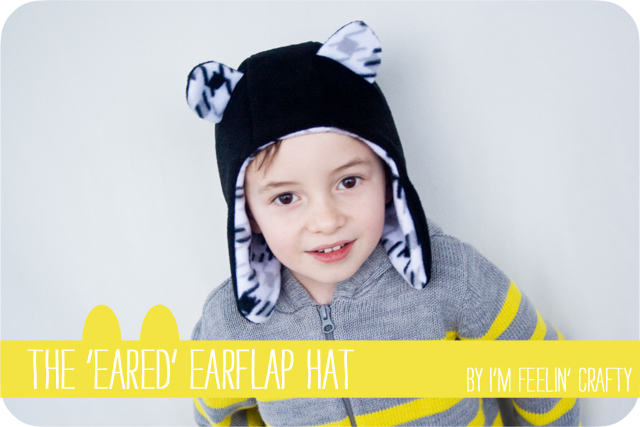 The  Eared  Earflap Hat Tutorial at Go To Sew! – 144faa12419