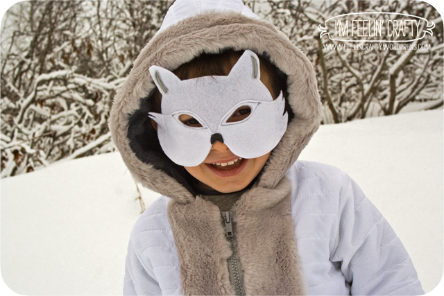 It is a photo of Fox Mask Printable in superhero