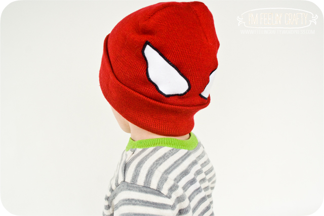SpideyHat-Backwards-ImFeelinCrafty