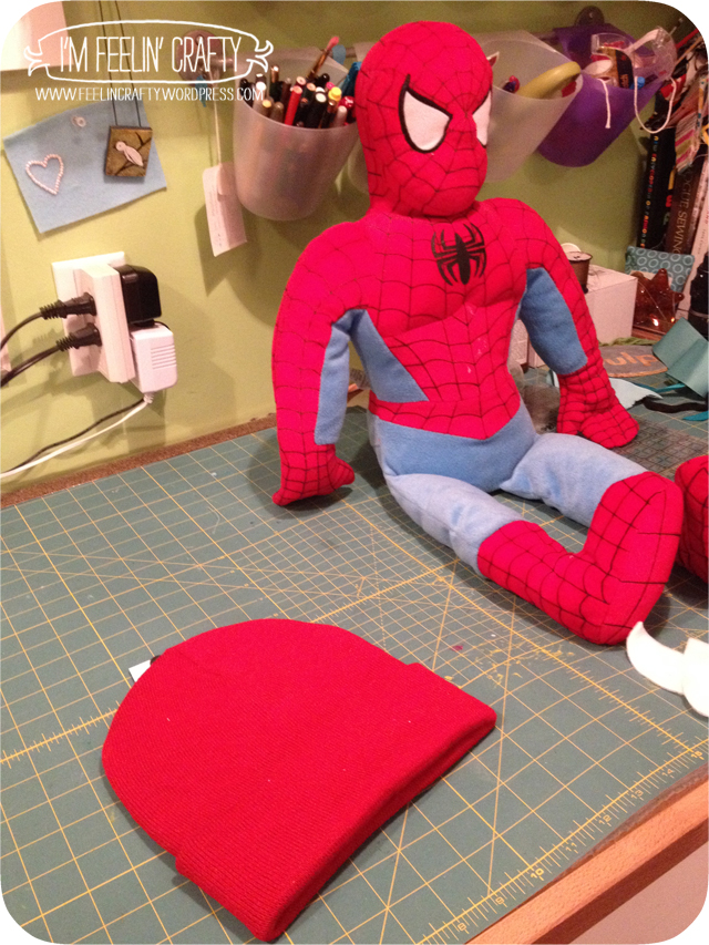 SpideyHat-Before-ImFeelinCrafty