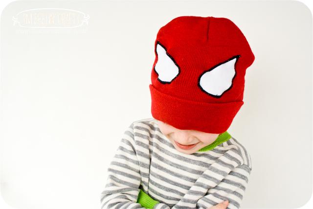 spiderman hat tutorial –