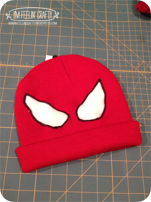 SpideyHat-Step2-ImFeelinCrafty