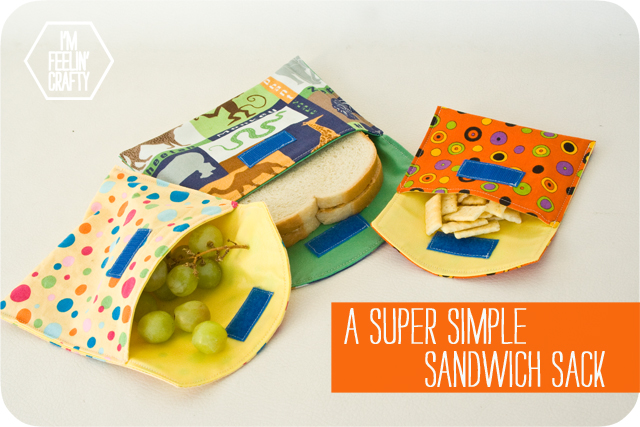 Reusable Sandwich Bags Diy