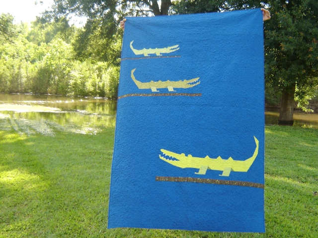 Marci Girl Designs - Gator Quilt 2