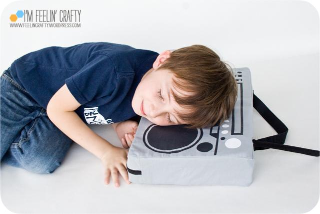 BoomBoxPillow-Sleeping-ImFeelinCrafty