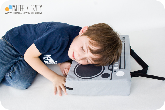 BoomBoxPillow-Sleeping-ImFeelinCrafty