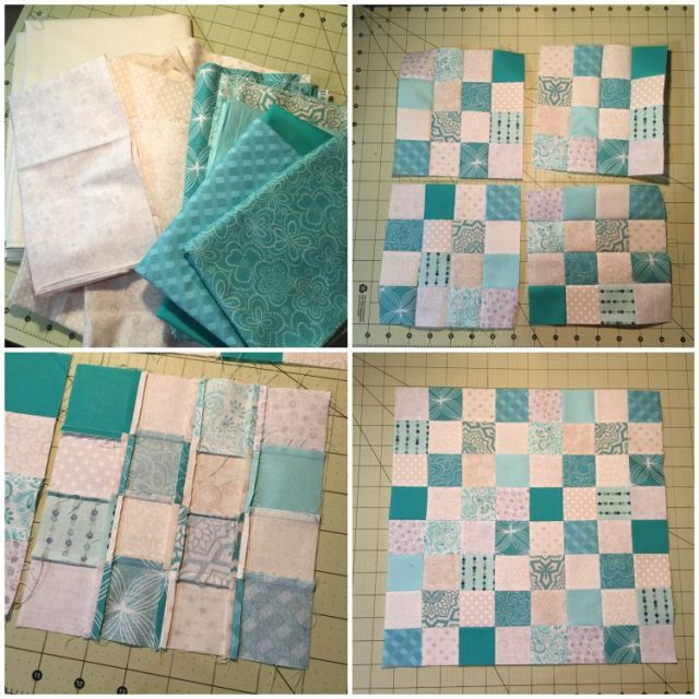 Making the Fabric Checkerboard
