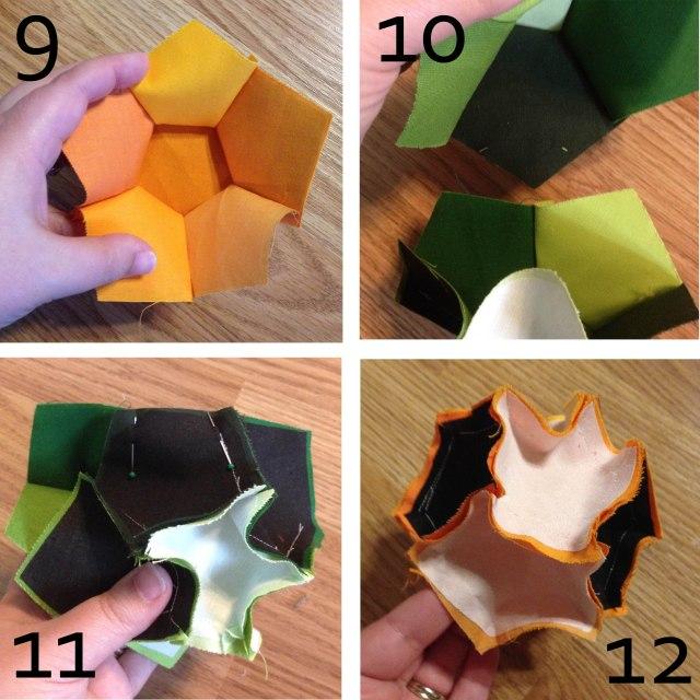 Steps 9 through 12 Bocce Ball Marci Girl Designs