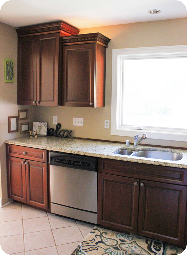 A backsplash how to idea! –